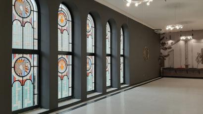 Újbudai Zsinagóga CE Glass
