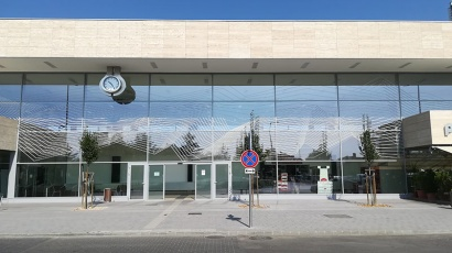 Reconstruction of Balatonfüred railway station Ce Glass reference