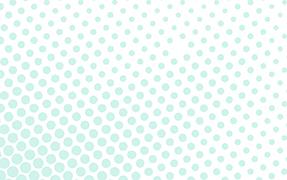Printelt üvegkorlát pöttyös mintával