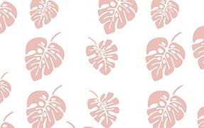 Printed glass railing leaf pattern