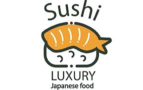 Printelt kültéri üveg cégtábla sushi